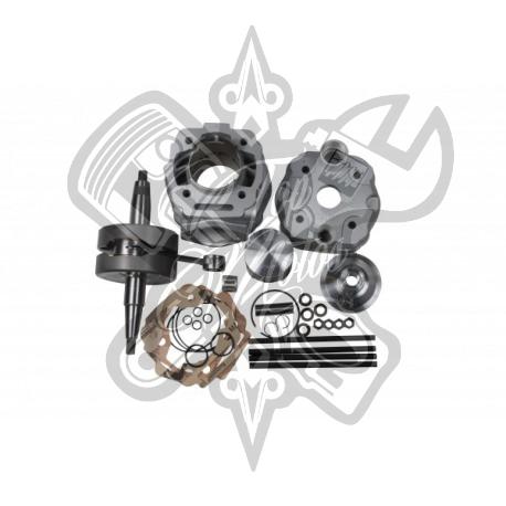 Kit cilindro y cigüeñal ITALKIT 88cc Derbi EURO3 K.12.245.23.14