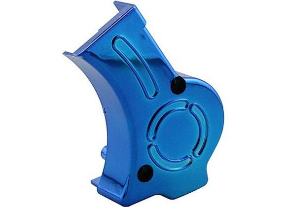 Tapa de la bomba de aceite STR8 Lighty Derbi Euro2 (EBE / EBS) azul anodizado