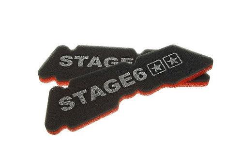 "Stage6 ""ESPONJA DOBLE"" espuma de caja de aire original Piaggio NRG / Typhoon ap."