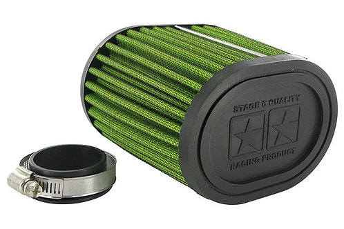 Filtro de aire Stage6 Racing Drag Race Green