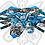 Thumbnail: Kit gráfico Stage6 Derbi X-Treme / X-Race azul - negro