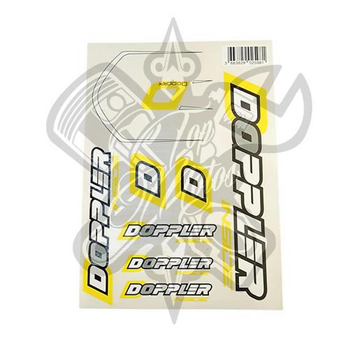 Kit pegatinas DOPPLER (Hoja A4 - 21X29.7CM)