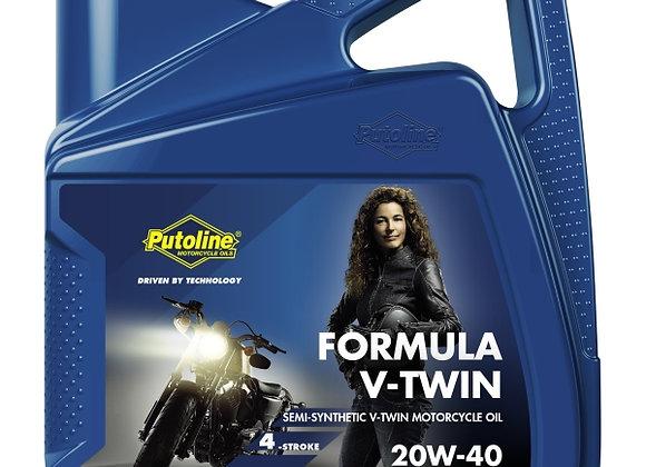 4 L GARRAFA PUTOLINE FORMULA V-TWIN 20W-40