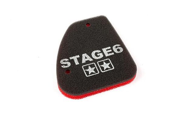 "Espuma de caja de aire original Stage6 ""DOBLE ESPONJA"" Peugeot vertical Speedfig"