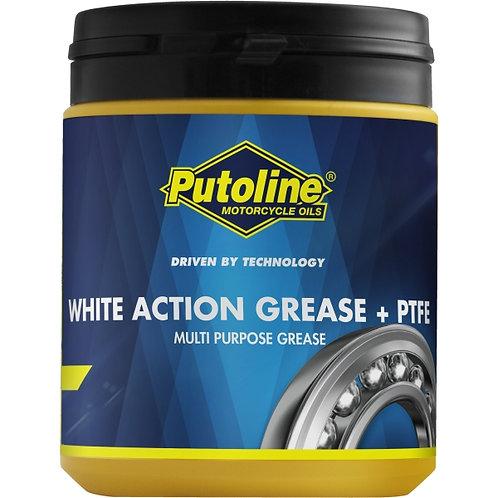 600 G ENVASE PUTOLINE WHITE ACTION GREASE + PTFE