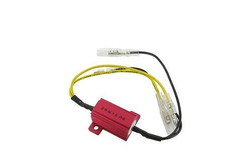 Resistencia de 25 W / 10 ohmios para señales de giro LED