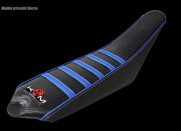 Funda de sillín KRM Pro Ride Yamaha DT / MBK X-limit azul