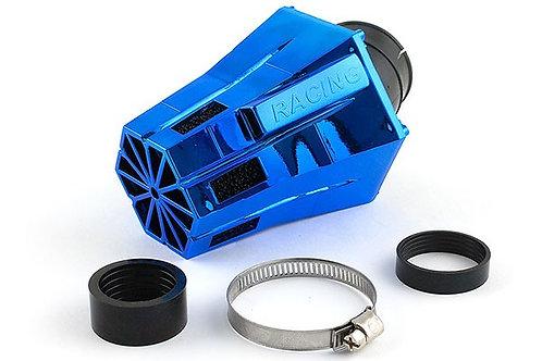 Filtro de aire STR8 D28-35 Evo angulado 30 ° espuma azul / negra