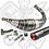 Thumbnail: ESCAPE STAGE6 R / T 90 - 100CC CNC ROJO / NEGRO MINARELLI AM6