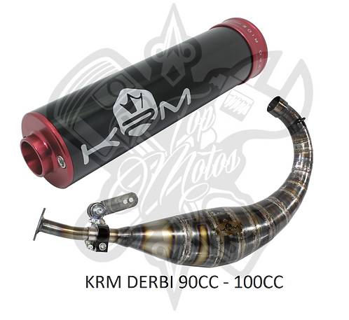 KIT ESCAPE KRM 90-100CC DERBI CON SILENCIOSO