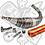 Thumbnail: ESCAPE STAGE6 R / T 90 - 100CC CNC NARANJA MINARELLI AM6