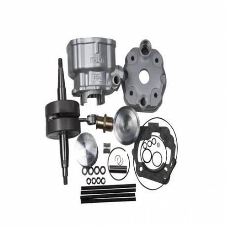Kit cilindro y cigüeñal ITALKIT 80cc Derbi EURO2 K.12.143.20.14