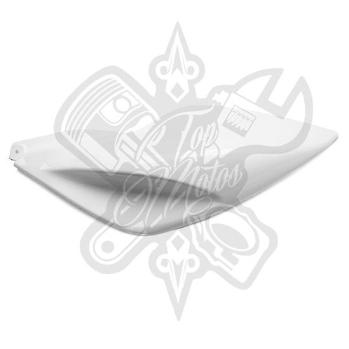 Chapa trasera izquierda Replay para Yamaha Aerox Blanco Brillante
