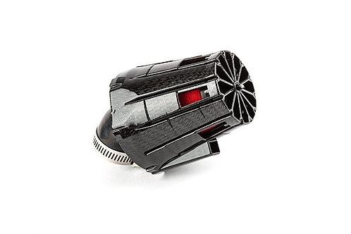 Filtro de aire E5 angulado 45 d.35mm carbono / rojo