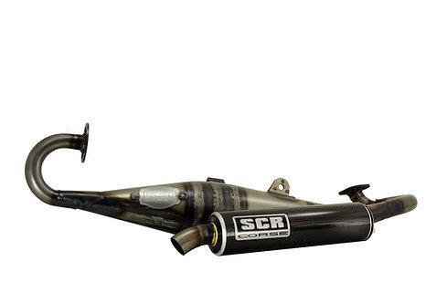 Tubo de escape SCR Hand Made 50cc Minarelli Horizontal