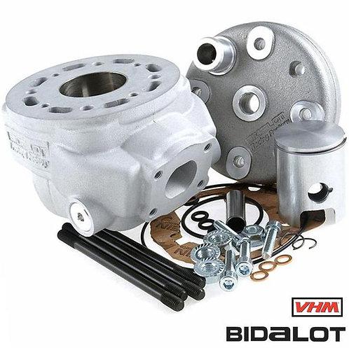 CILINDRO DERBI EURO 2 50CC BIDALOT RF50WR VHM CNC C.39,7 BIELA 85MM