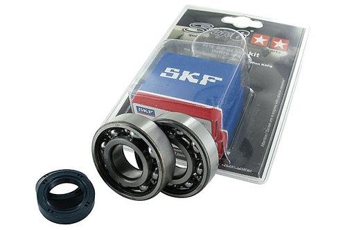 Kit rodamientos y retenes espía Stage6 jaula de acero Peugeot Ludix / Jet Force