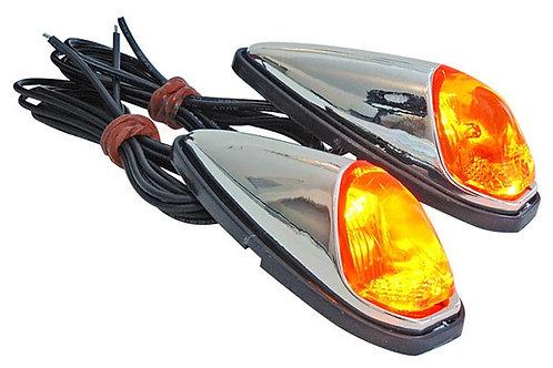 Pegamento / luces intermitentes STR8 naranja / cromo