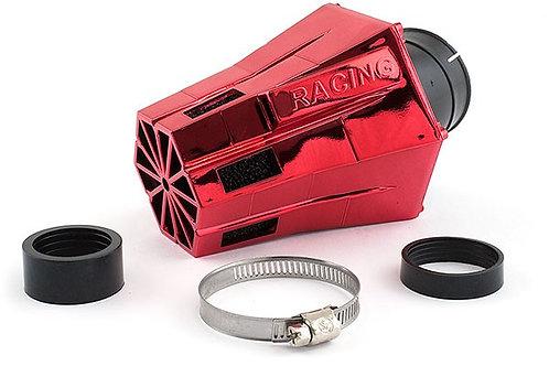 Filtro de aire STR8 D28-35 Evo en ángulo 30 ° espuma roja / negra