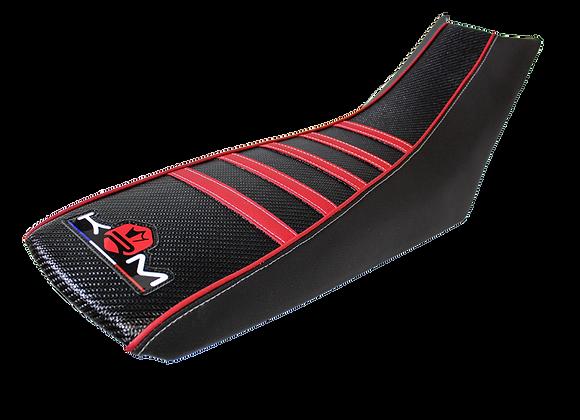 Funda de asiento roja KRM Pro ride Aprilia SX