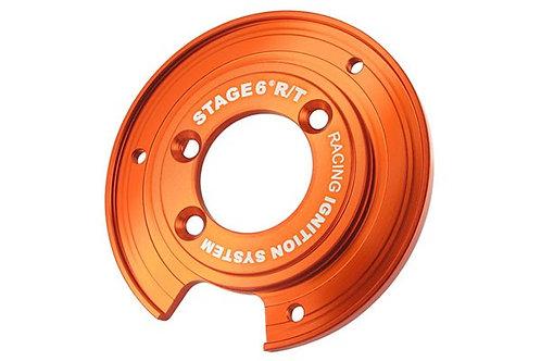 Placa de montaje de encendido Stage6 para rotor interno, Piaggio NRG / Typhoon
