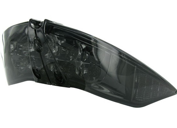 "Luz trasera LED STR8 con indicadores ""Black Line"", Peugeot Jet Force"