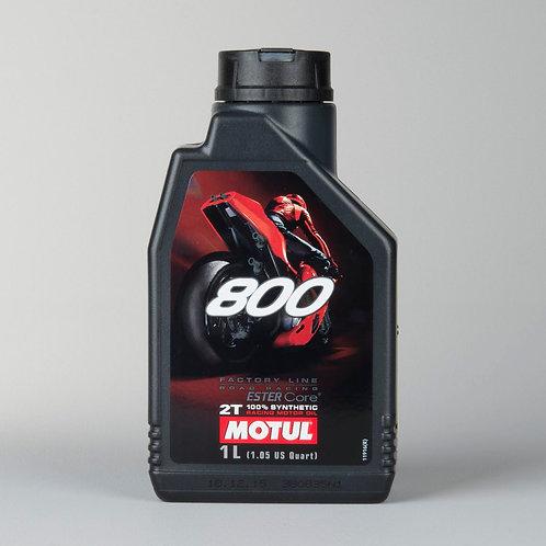 Aceite de Motor Motul 800 Road racing Sintético 1L