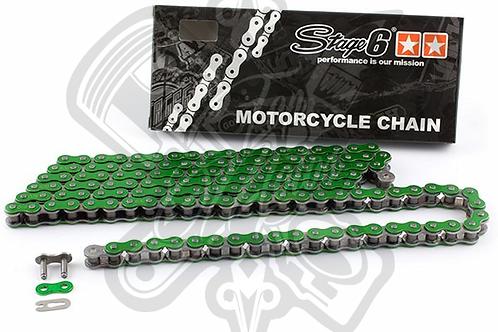 HQ Stage6 D.420 cadena verde anodizado