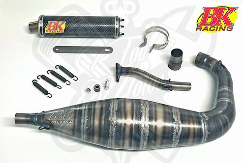 ESCAPE BK RACING 90CC AM6 CAÑA CORTA