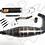 Thumbnail: ESCAPE BK RACING 80CC AM6 CAÑA CORTA 28X32