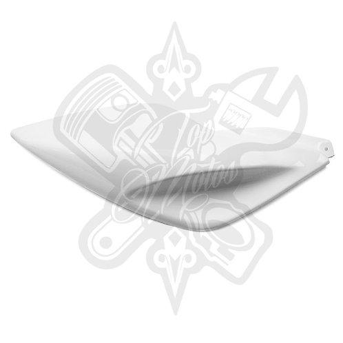 Chapa trasera derecha Replay para Yamaha Aerox Blanco Brillante