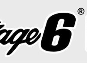 Stage6 pegatina, negro