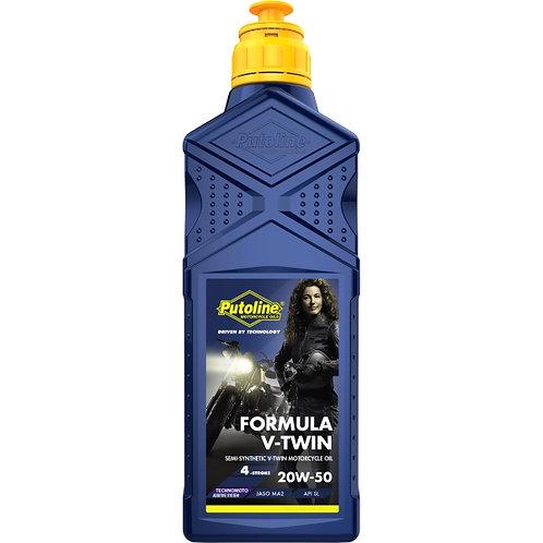 1 L BOTELLA PUTOLINE FORMULA V-TWIN 20W-50