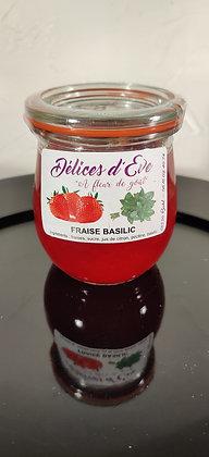 Fraise / Basilic