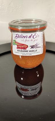 Rhubarbe d'Alsace/vanille
