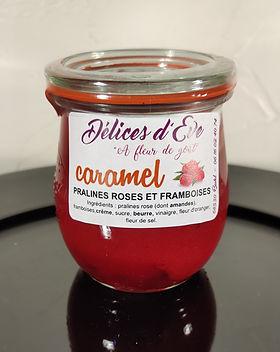 Caramel pralines roses et framboises.jpg