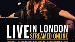 Julie Atherton Live at London Hippodrome concert available to stream in April!
