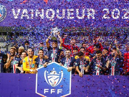 PSG vence Saint-Etienne e conquista a Copa da França