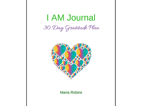 I AM Journal: 30 Day Gratitude Plan