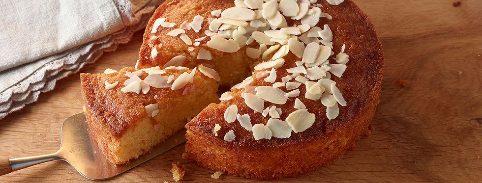 Gluten Free Orange, Honey & Almond Cake