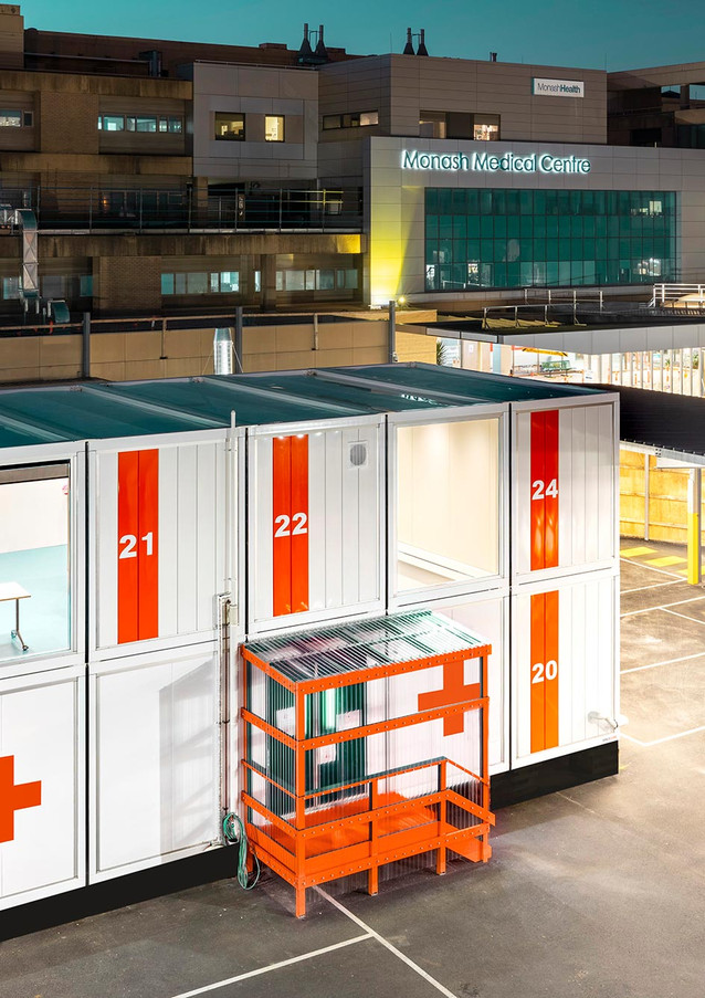 Australia's first COVID-19 RESUS Medical Facility at Monash Health