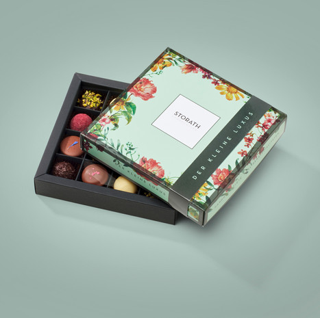packaging design storath chocolatier