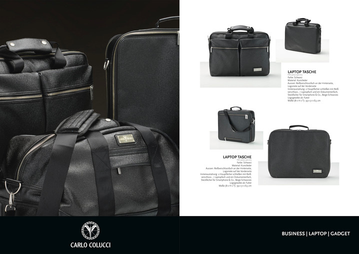 product photography carlo colucci catalogue/advertising
