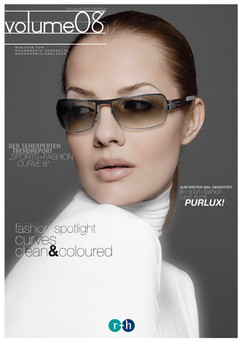 graphic design/production catalogue/advertising r+h optical