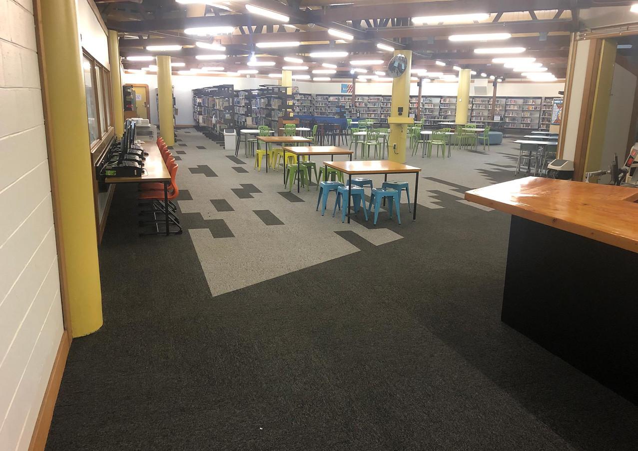 Footscray High School, Kinnear Campus Library
