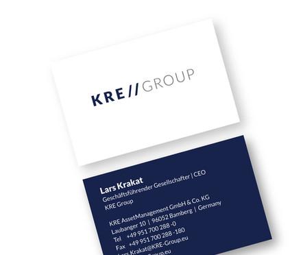 graphic design logo design  corporate design kre group