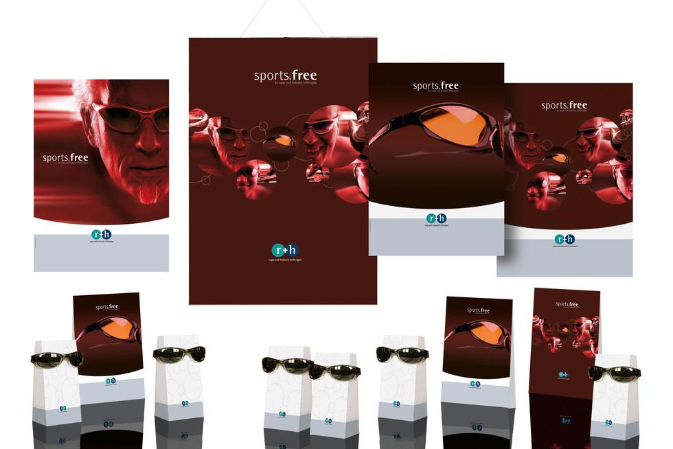 packaging design r+h optical