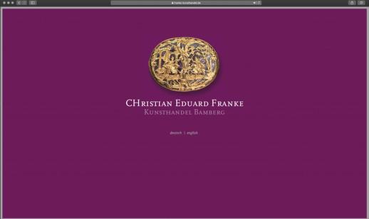 webdesign franke kunsthandel