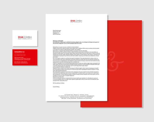 graphic design logo design  corporate design duk.gmbh