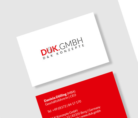 graphic design logo design  corporate design duk.gmbh